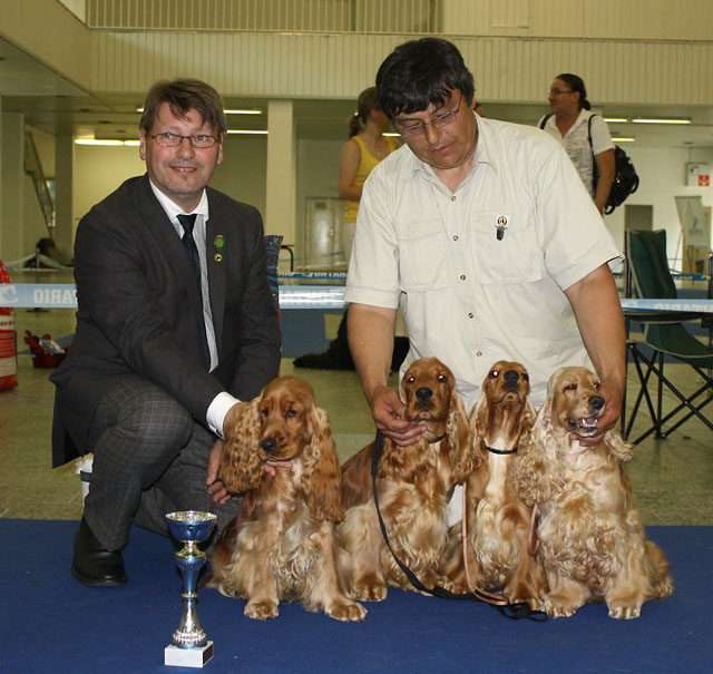 Special show Brno 2010 - BEST BREEDING GROUP - 1.PLACE